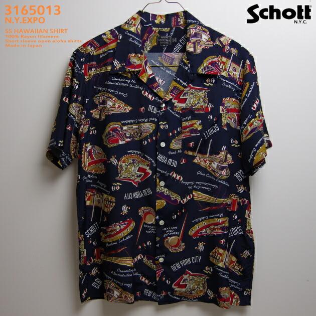 ショット(SCHOTT)SCH3165013 N.Y.EXPO(ニューヨークエクスポ) ネイビー