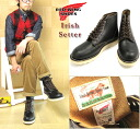 RED WING «Red Wing» Irish Setter Irish setter #RW-9870 6inch Round Toe Boots 6 inch round to boots tea core グッドイヤーウェルト made by law dog tags reprint Black-United States workshop