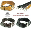 Whitehouse Cox-Dress Belt Collection-#B-8665 BridleLeather Belt bridle leather belt cowhide width 28 mm brass buckle made of United Kingdom nickel coating unisex