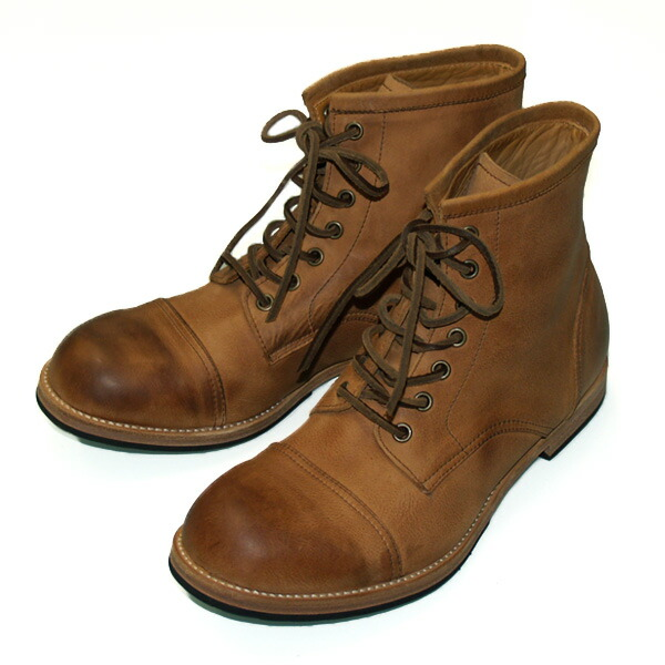 Leather Work Boots - Cr Boot