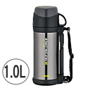 Heat and cold insulation OK! Thermos stainless steel bottle 1.0 L cool grey FFW-1000-CGY ( canteen )