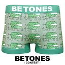 에서 BETONES (ビトーンズ) 경연 팬티의 HANDSOME/DOODLE MONSTER/SABANNA 남성 속옷 남성 여성용 언더 웨어 선물 생일 선물 남자 친구 men 's