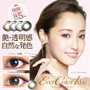 Again and again without one-day color contact lenses cheap 14. 5 mm ☆ エバーカラーワンデー ☆ Brown 1 day disposable 1 box 10 cards with color contact lenses Ever Color 1day.