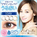 Caracol degrees and degrees without one-day color contact lenses cheap 14. 5 mm 1 day disposable 1 box 10 sheets with Ever Color 1day MOIST LABEL.