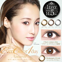 Again and again without one-day color contact lenses discount ☆ 14. 5 mm ☆ エバーカラーワンデー natural 1 day disposable 1 box 20 images with color contact lenses Ever Color 1day natural.
