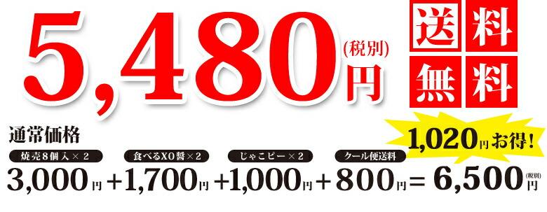 5480円 送料無料