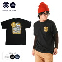 BUDEN SHOUTEN BIBUTA series Mt. Fuji Retro design inscription as WORLD HERITAGE short sleeve Tee ; Commemorative model