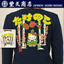 Hello Kitty shoots Kitty tsumugi tenjiku long sleeve T shirt