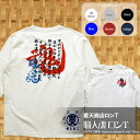 Feng Tian shopping Japan Japanese series craftsmanship tsumugi tenjiku long sleeve T shirt