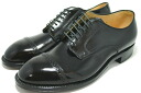 Alden straight tip cordovan leather black (ALDEN 56251)