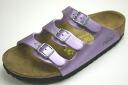 ビルケンシュトックパピリオキッズサンダルフロリダメタリックパープル (BIRKENSTOCK Papillio Florida Lipari Lilac)