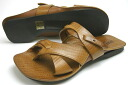 Terrorism leather sandals brown (BUTTERO B2210 CUOIO)