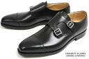 Crockett & Jones ダブルモンク Lowndes black ( CROCKETT JONES LOWNDES BLACK CALF )