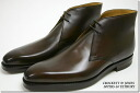 Crockett & Jones chukka boots dark brown in Tetbury ( CROCKETT JONES TETBURY BURNISH of DARK BROWN CALF ) 10P28oct13