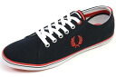 Fred Perry canvas sneakers Kingston Navy ( FRED PERRY KINGSTON TWILL NAVY )