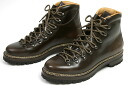 Marumo Lada mountain boots aging cordovan leather dark brown (MARMOLADA FG105 CORDOVAN NOVAPEL T.MORO)