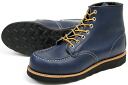 REDWING RW-8853 ( Red Wing 6 inch classical MOC to Indigo )