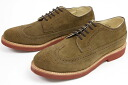 Walk over Cambridge milk chocolate suede ( WALK-OVER CAMBRIDGE Milk Chocolate Crosta #33518 ) (wing tips) 10P28oct13
