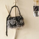 Tibet meissi メイッシ pigskin RAM x tassel 2way mini shoulder bag & 5314300348 (3 colors)