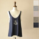 c'est bien fait C'est Bien feh embroidery trimming race tank top .23573 (all five colors of )(M))