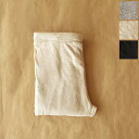 Crouka ferie クローカフェリエ recycled cotton 12 minutes-length leggings-62030 (3 colors) (M)