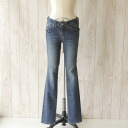 d.m.g(DMG) Domingo stretch denim pants-13-455 c 25 _ 8 (S, M, L)