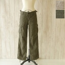 d.m.g(DMG) and Domingo linen カルゼドライワッシャー cargo pants l 13-651 (2 colors) (SS, S, M, L)