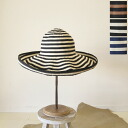 sanfrancisco hat San Francisco Hat Ribbon Bonbon / sand protection ワイドブリム Hat-4074 (3 colors)