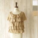 yangany yongyi cotton tiered lace blouse & f-5765 (3 colors) (M)