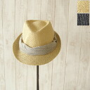 Yasue carter ヤスエカーター blade dot Ribbon センタークリース straw hat and 5513110308 (2 colors)