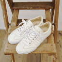 maccheronian macaroni Ann leather sneakers, mc-2039km