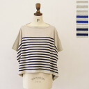 All three colors of orcival オーシバル / オーチバルリネン / cotton Malin stripe wide knit, rc-4131st( )(free)