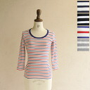 SIRENE mermaid シレーネマーメイド striped crewneck sewn-mwab5009bd (4 colors)