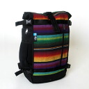 ethnotek ethno technical center raja pack/ rajahship pack Guatemala gradation color backpack (unisex)