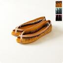 Gosh gosh mangue and レザーツイスト side mesh flat sandals and 5333000303 (3 colors)