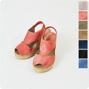 And Calzanor カルザノール SERRAJE and suede back strap espadrille a528 (7 colors)