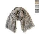 In Faliero Sarti ファリエロサルティ 2051 Kao / Virgin wool scarf シャーリングボーダー-1162793 (3 colors)