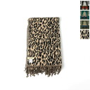 AGAM Agam native Leopard pattern blanket, acr-32, and aov-2055 (4 colors) (unisex)