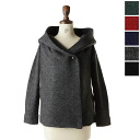 10 / 30 Up to 23:59! Mao made マオメイド strong curly wool hood jacket, 331136 (5 colors) (M)
