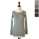NARU null random tape recorder horizontal stripe knit / sweater .611702 (all four-colored )(M))