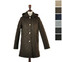 traditional weatherwear traditional weather are WESTFIELD / Westfield wool Tweed × レオパードフ lease quilted coat, 2006 i (6 colors) (M-L)