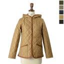 LAVENHAM lavenham CRAYDON LAVENSTER×FUR / Claydon Raven star x fur hood Quilted Jacket (5 colors) (S, M, L)