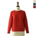 PULETTE Ouro Motif Drop Shoulder Knit and knit motif drop shoulder pl-kn0143 (3 colors) (M)