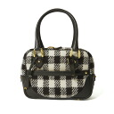 J & M DAVIDSON Jay and emdevidson MINI MIA and check urban Boston bag-1200-6771
