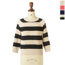 Le Melange ル melange raglan sleeves rib cotton knit .6412002 (all four colors) (free))