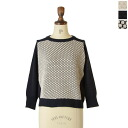 Espeyrac エスペラック cotton / linen crewneck knit and 1412001 (3 colors) (free)