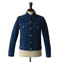 A Vontade アボンタージ one wash Indigo corduroy jacket-vtd-0217-jk (S, M, L)