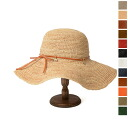 Il bisonte イルビゾンテ leather bow & charm straw hat and 5432404283 (9 colors)