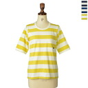 All three colors of s&nd second big horizontal stripe pocket T-shirt, sd-130420( )(unisex)