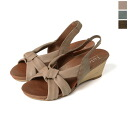 Toloy Troy レザーバックス strap wedge Sandals-2144 (3 colors)